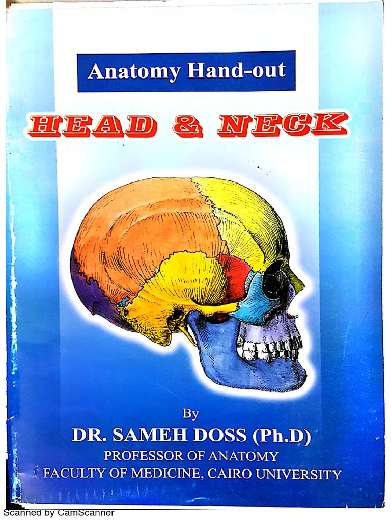 تحميل كتاب head and neck anatomy