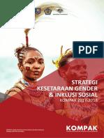 Kompak Gesi Strategy Keadilan Gender dan Inklusi Sosial 2017