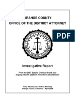 Orange County DA Chamberlain Report