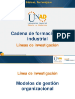 Cadena de Formación en Industrial