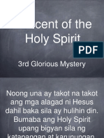 3rd Glorious Mystery - Rosary (Tagalog)
