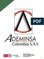 Portafolio de Servicios. Ademinsa Colombia. Nov. 2018