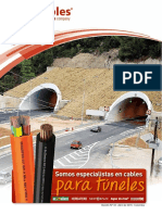 Cables para tuneles