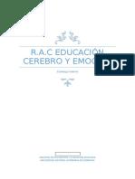 RAC Educación Cerebro y Emoción