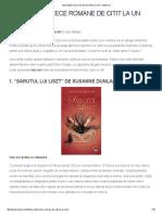 Zece Romane de Citit La Un Ceai - Bookuria'