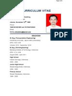 CV Timothy R. Sihombing 2019