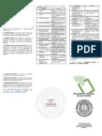 Reglamento General de Elecciones UNA Tríptico 2018