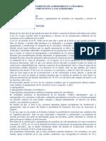 Clasificacion y Agrupamiento de Acreedores en Categorias