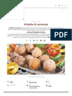 Frittelle Di Carnevale - La Ricetta Di Buonissimo