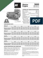 CATERPILAR3600 2000-7270 bhp