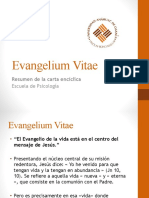 Resumen Evangelium Vitae