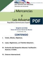 Aduanas Dga Las Mercancias y Las Aduanas