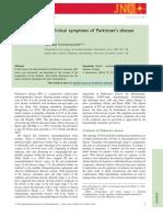 The clinical symptoms of Parkinson's disease. review 2016.pdf