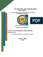 Informe Nro 03de Practicas Calificadas
