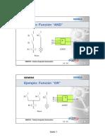 PLC LOGO - Descripción de Funciones
