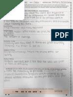Sample of Student Feedback