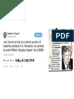 3b - Trump Portrait, Fake Bidder