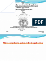 Microcontrollerinautomobileandapplications 160718074702 Converted