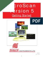 MicroScan V5 Manual-Getting Started