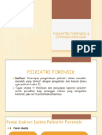 DT Psikiatri Forensik Dan Etikomedikolegal