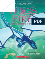 The Lost Heir (Wings of Fire Graphic Novel 2)