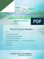 Presentación Proyecto Erasmus al Claustro ceip Maestro José Fuentes PDF