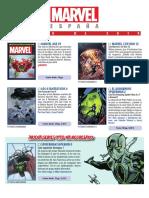 Catálogo Marvel Marzo 2019