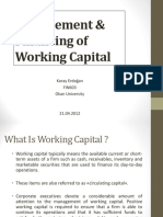Working Capital Management_by_Koray_Erdogan.ppt