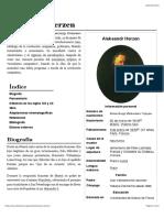 Aleksandr Herzen - Wikipedia, La Enciclopedia Libre