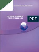 Estándares Disciplinarios Para La Enseñanza de La Historia, Geografía y Ciencias Sociales