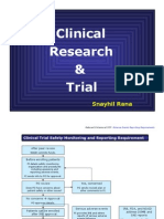 Clinical Trial Summery