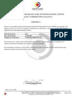 Ante cuestionamientos de HRW, MinDefensa revela certificados de comandante de Ejército