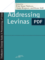 (Studies in Phenomenology and Existential Philosophy) Eric Sean Nelson, Antje Kapust, Kent Still-Addressing Levinas (SPEP) (2005)