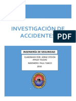 INVESTIGACIONDE ACCIDENTES
