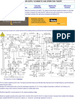 Computer Power Supply- Schematic and Operation Theory