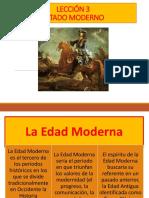 Leccic3b3n 3 Estado Moderno