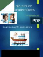 Lenguaje Oral en Niños Preescolares Amado Nervo