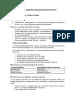 Formas de Organización Empresarial y Regímenes Laborales