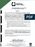 Certificado Alexa