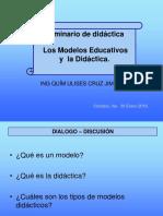 Modelo Educativo y Didactica