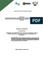 TDR Consultoría Invest Operativización Politica de Comadronas Febrero 19