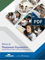 PROGEPE 2019 - Módulo 2 - Planejamento Orçamentário
