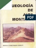 Arqueologia de Alta Montaña- Maria Constanza Ceruti (1997)