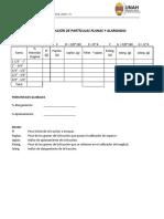 Indice de Aplanamiento y Alarg.