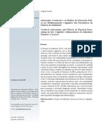 Efeitos do Exercício Físico no Melhoramento Cognitivo dos Portadores de Doença de Alzheimer.pdf