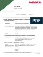 MSDS - ÁCIDO SULFÚRICO