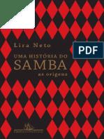 Uma Historia do Samba - Lira Neto.pdf
