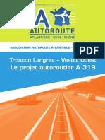 Troncon Langres Vesoul Ouest-Le projet autoroutier