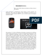 Ciclo de Vida de Blackcberry