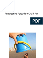 Perspectiva Forzada y Chalk Art